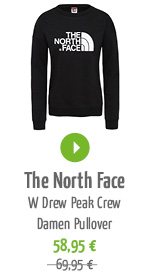 The North Face W Drew Peak Crew Damen Pullover