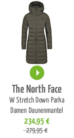 The North Face W Stretch Down Parka Damen Daunenmantel