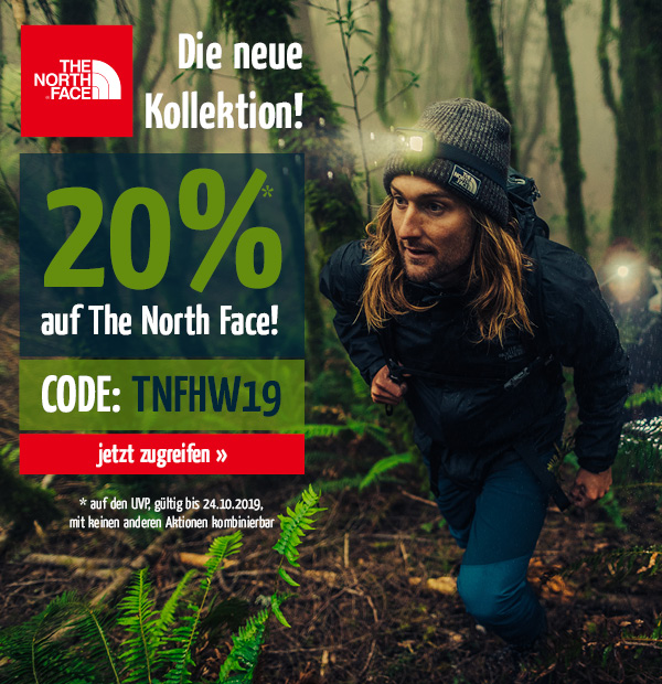 Direkt zu The North Face