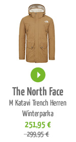 The North Face M Katavi Trench Herren Winterparka