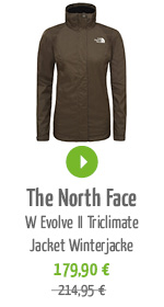 The North Face W Evolve II Triclimate Jacket Damen Winterjacke