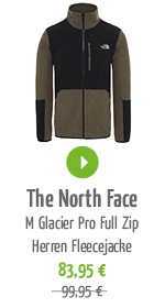 The North Face M Glacier Pro Full Zip Herren Fleecejacke