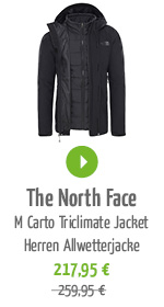 The North Face M Carto Triclimate Jacket Herren Allwetterjacke