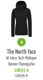 The North Face W Inlux Tech Midlayer Damen Fleecejacke